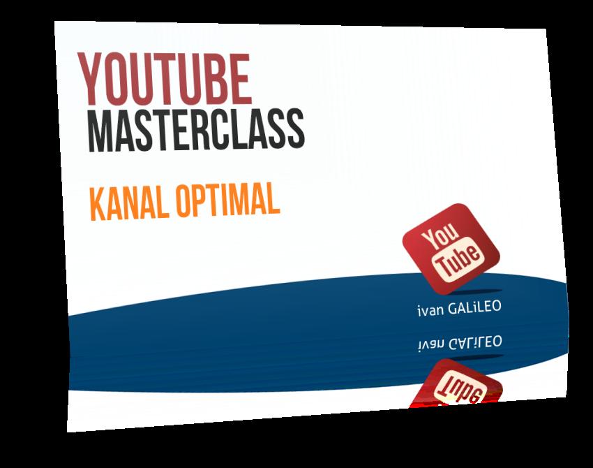 YouTube MasterClass Kanal Optimal einrichten