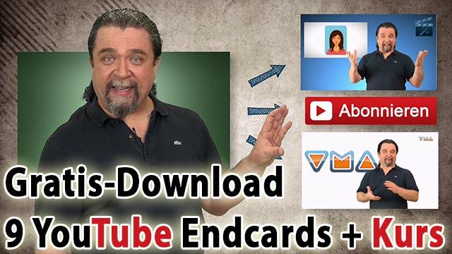 Templates für YouTube Endcards